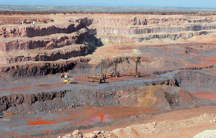 About 120 striking workers at Kumba Iron Ore's Sishen mine