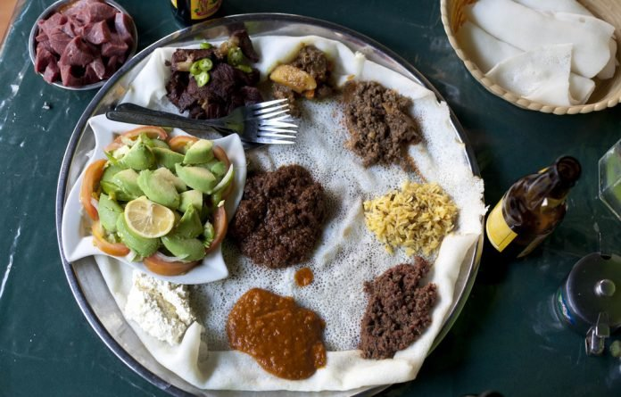 Daily bread: The spongy flatbread injera is not a Dutch invention but has been Ethiopia's staple food for centuries