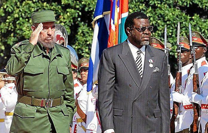 Cuba's President Fidel Castro
