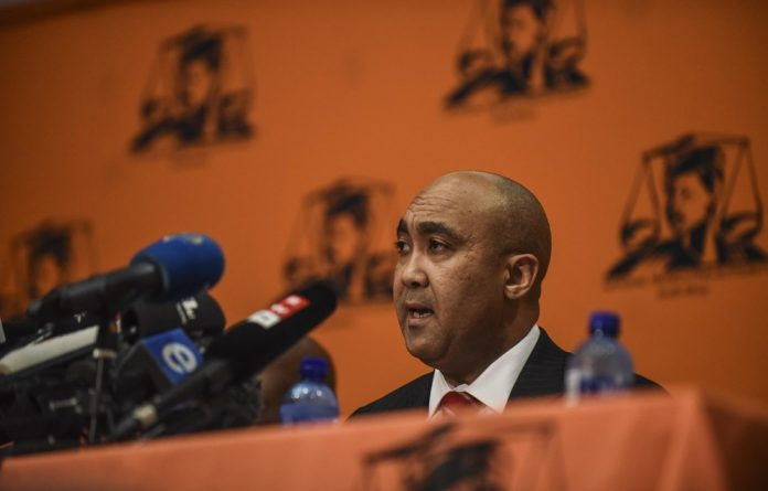 """""""In my view' the court must determine issues relating to the accused's legal representation and any defence applications in relation thereto."""" — Shaun Abrahams"""