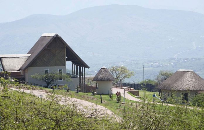 Zuma said he was still paying a bank bond for the five family buildings that form part of the compound.