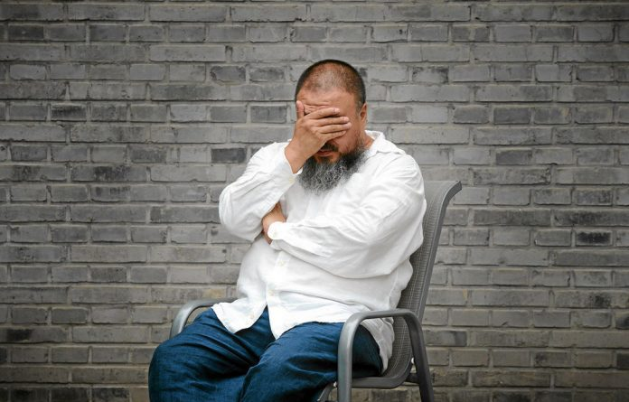 Talking to the wall: Chinese artist Ai Weiwei has been victimised and imprisoned for his sociopolitical commentary.