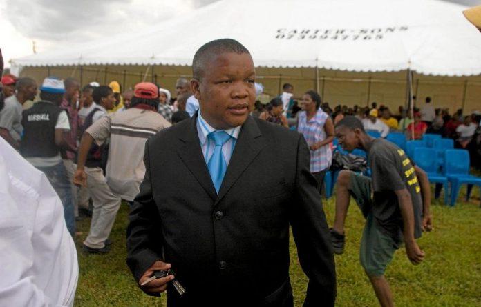 ANC provincial secretary Dakota Legoete is allied to Supra Mahumapelo