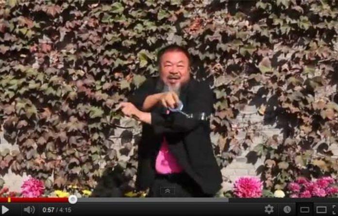 Ai Weiwei does 'Gangnam Style'.
