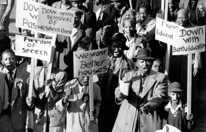 The people shall govern: The 1955 launch of the Freedom Charter