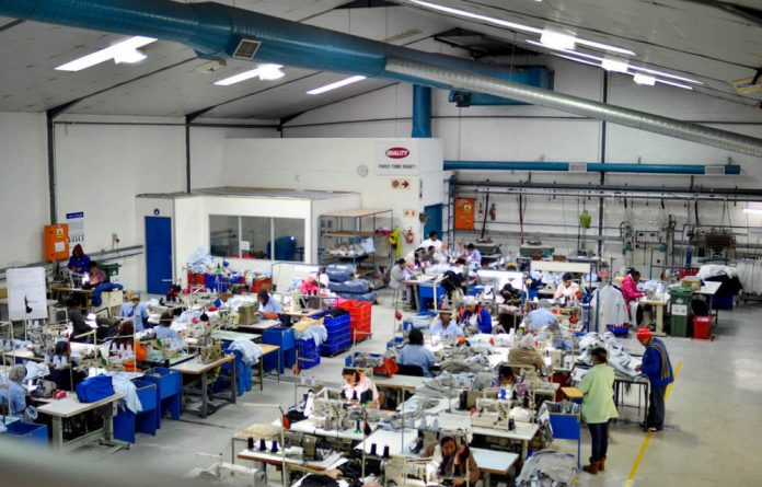 The K-Way factory  in Cape Town.