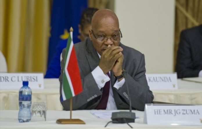 President Jacob Zuma's name was used to push through the security upgrades to his Nkandla residence and influence decisions