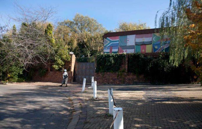Winnie Madikizela-Mandela's Soweto home.