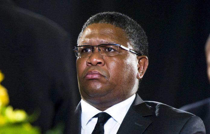 Sport and Recreation Minister Fikile Mbalula.