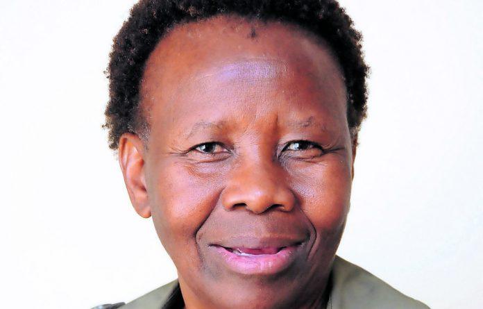 Professor Mmantsae Moche Diale