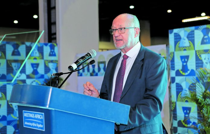 Minister of Tourism Derek Hanekom said that business tourism is on the rise