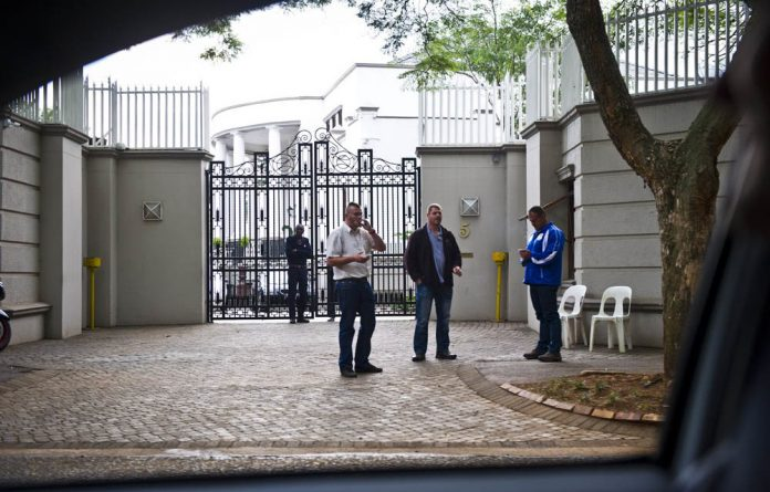 The Gupta family's Saxonwold home is a high-pressure environment where the security detail always had to be armed