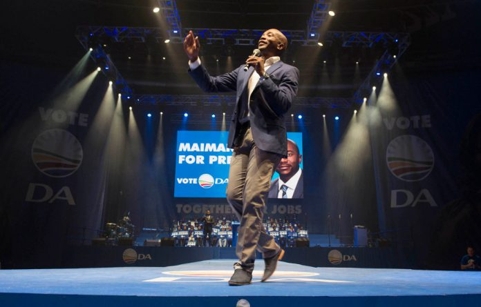 A 30-minute TV debate between Mmusi Maimane Wilmot James was spent discussing their stances on the death penalty