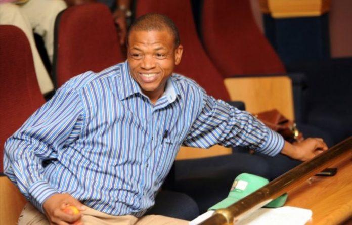 Expelled Tlokwe municipality executive mayor Maphetle Maphetle.
