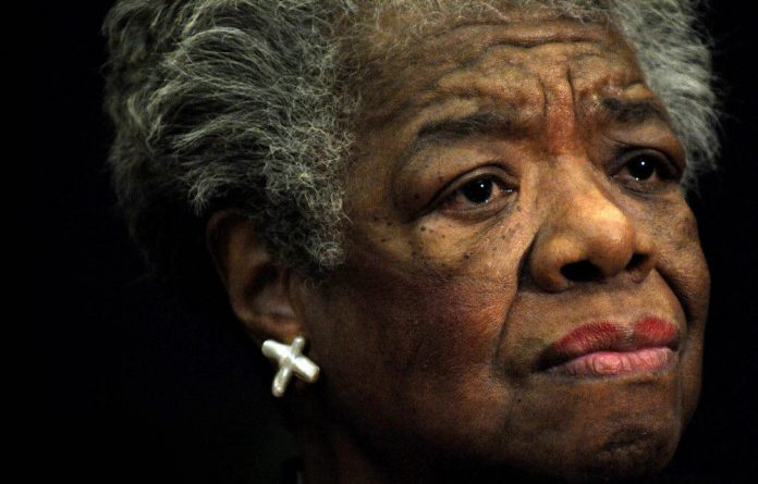 Maya Angelou was a woman determined to go through life with 'passion