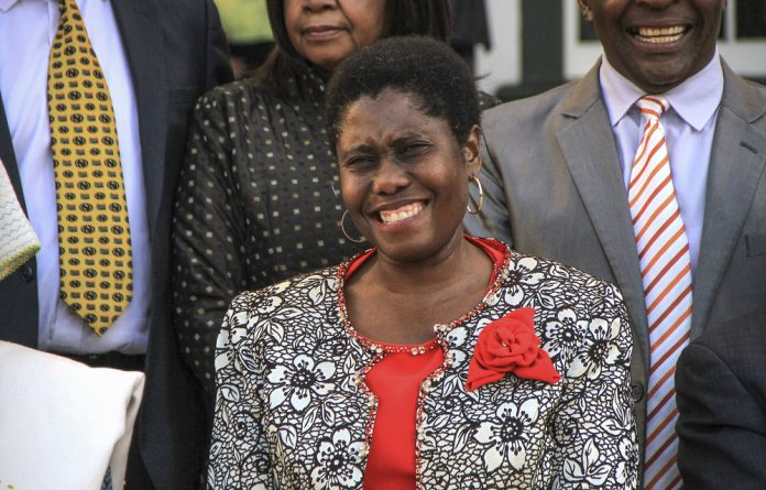 State Security Minister Dipuo Letsatsi-Duba plans to clean up the intelligence services.
