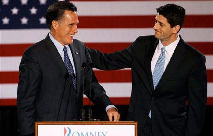 Paul Ryan and Mitt Romney.