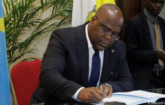 Tshisekedi assumed office in January