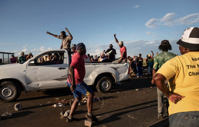 Ernst Roets says that the reason why black South Africans are having a hard time getting by is because South African government has largely deserted them.
