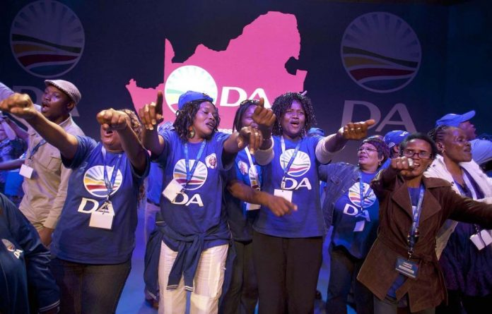 The changing face of the Democratic Alliance was obvious  during its 2012 federal congress.