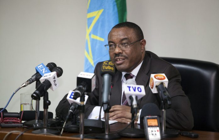The Ethiopian Prime Minister Hailemariam Desalegn delivered a stark warning Friday to anyone linked to terrorist groups hours after the charges were laid.