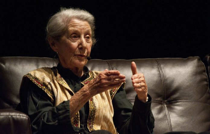 The panel discussion involving Nadine Gordimer and Mongane Wally Serote was a highlight of the M&G LitFest.