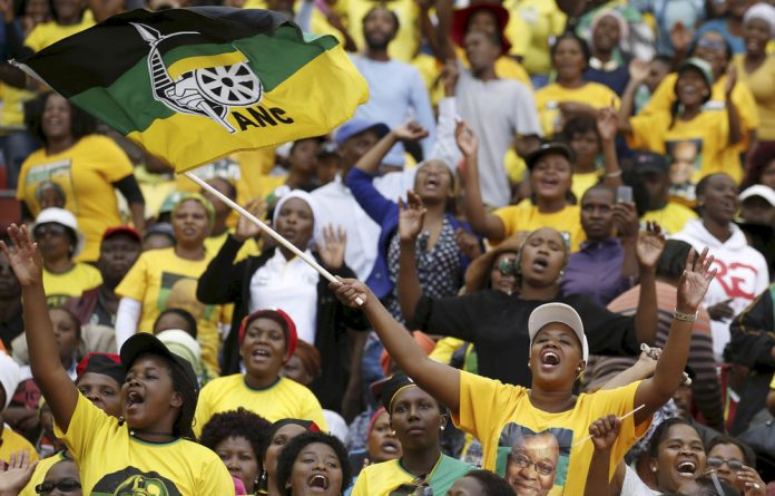 People attending the ANC Manifesto Launch in Nelson Mandela Bay April 16 2016.