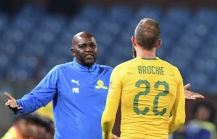 Dicey move: Pitso Mosimane's resting of Jeremy Brockie and others cost them the game.