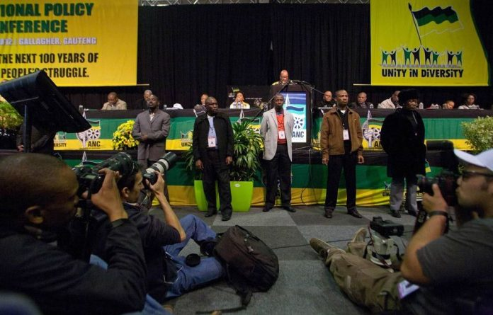 At its national policy conference in Midrand last week