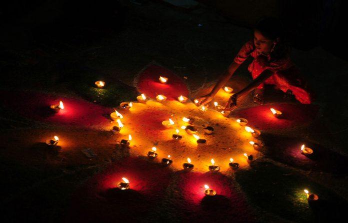 Hindus celebrate Diwali in November every year.