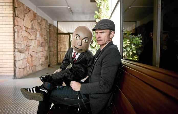 Conrad Koch - known best for his comedy fronted by his puppet Chester Missing - has hit back against Steve Hofmeyr over a Twitter gag order.