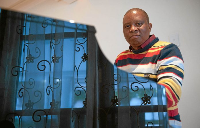 Music to his ears: Herman Mashaba says he is not afraid of anyone and won't keep quiet 'when the country is up in flames'.