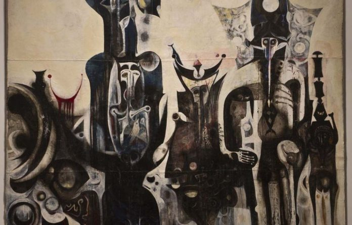 From Sudan to London: Post Reborn Sounds of Childhood Dreams by Ibrahim El-Salahi.