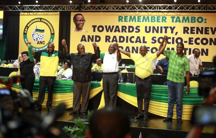 Zuma's fate has divided the ANC