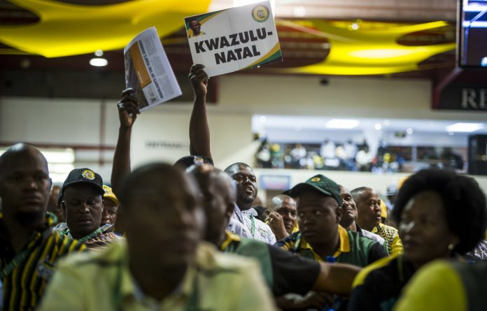 Last week the ANC national dispute resolution committee met with the disaffected branches who then gave the go-ahead for conference to sit.