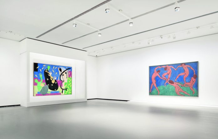 All-star exhibition: Works by Picasso and Bonnard and Matisse