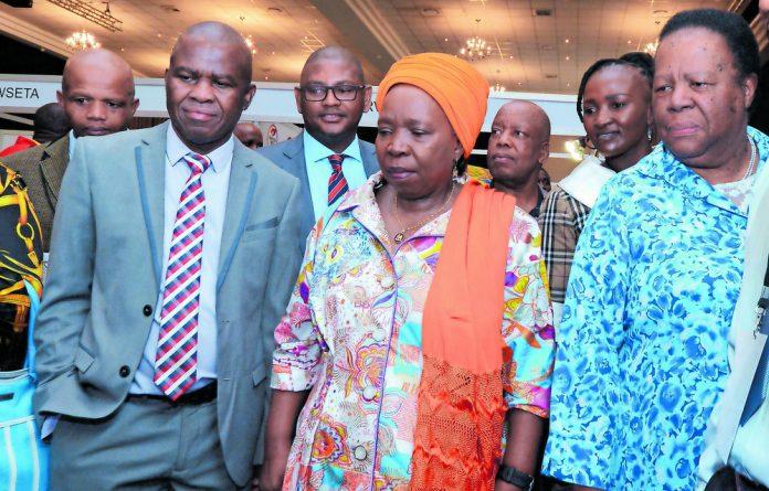 Executive officer of the National Skills Authority Thabo Mashongoane believes in upskilling and co-operation