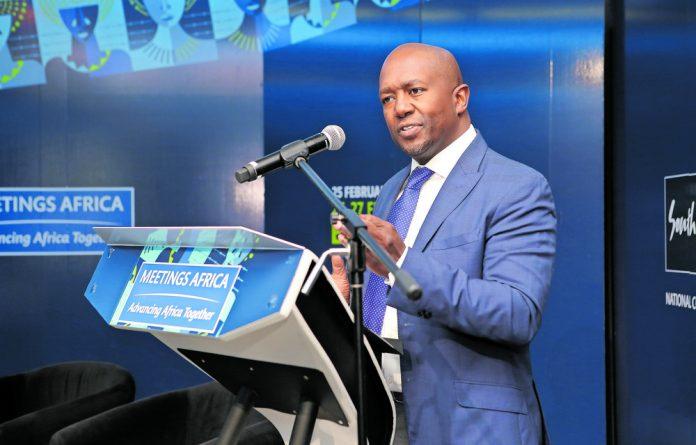 South African Tourism chief executive Sisa Ntshona