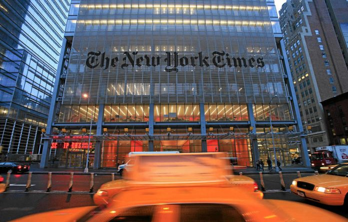 Paywalls may work best at newspapers with unique content such as the New York Times