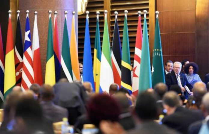 At last week's Forum on China-Africa Co-operation in Beijing
