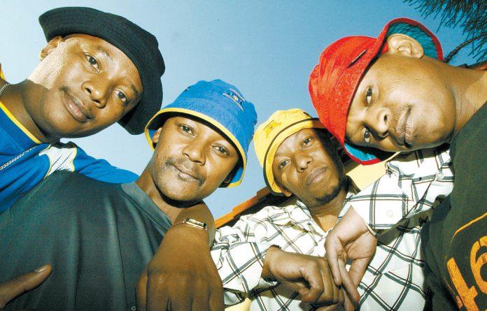 Trendsetters: Trompies members Zynne Sibika