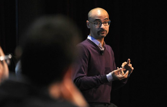 A man's world: Many framed the accusations of misconduct against writer Junot Díaz as a consequence of his own experiences of sexual violence. Photo: Andrew Toth/Getty Images for The New Yorker Festival/AFP