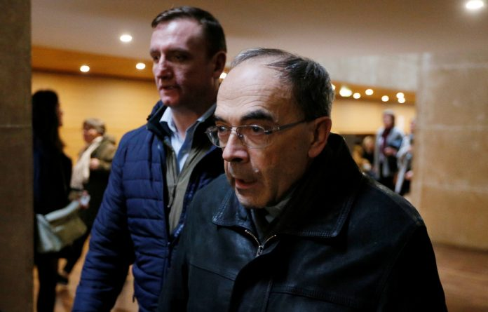 Barbarin faced long-standing allegations from victims' groups that he failed to report a priest under his authority to police after learning of abuse which took place in the 1980s and 1990s.