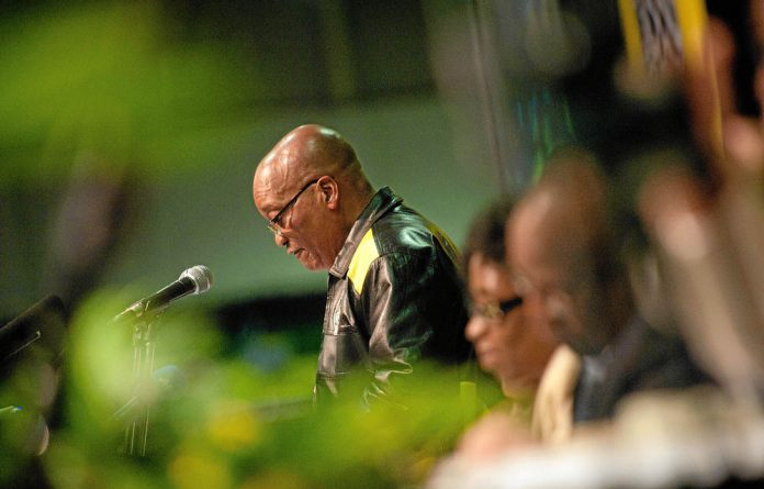 Exhibitors ranging from Emirates Airline to a little-known security company all got to shake Zuma's hand.