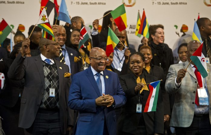 Zuma accused European countries of destabilising 'that part of the world' and then not wanting to accept refugees.
