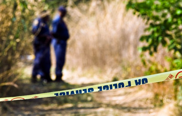 Gauteng tops the list with the highest murder rate in the country.