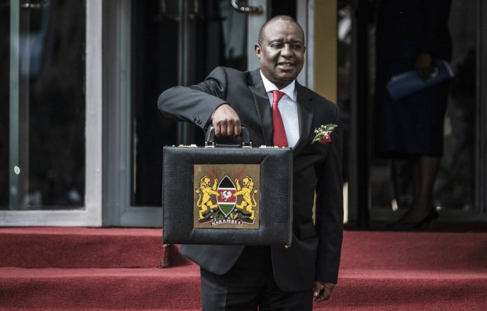 Embroiled: Kenya's Cabinet secretary for the treasury