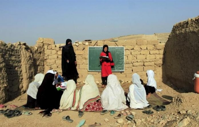 Nearly half of all children in Afghanistan are out of school due to conflict