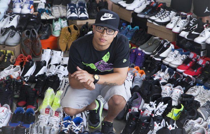Sneakerhead: Ryan Herman.