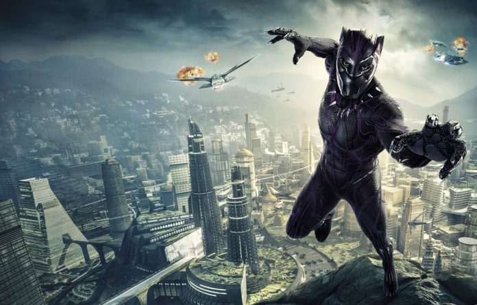 Superhero of the moment: Chadwick Boseman plays the film adaptation of the Sensational Black Panther which launches in theatre tonight.
